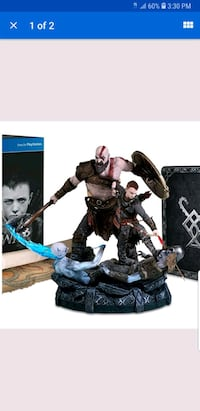 God of War statue+pop! Kratos and atreus Bronx, 10461