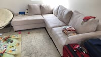 Couch - L shape and beige color  Redondo Beach, 90278