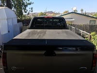 Black 6.5ft Tonneau F150 bed cover Spring Valley, 91978