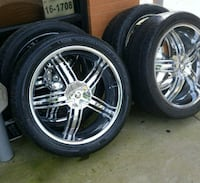 26 in  Rim's and tires