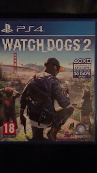 Watch dogs 2 ps4 Huddinge, 141 41