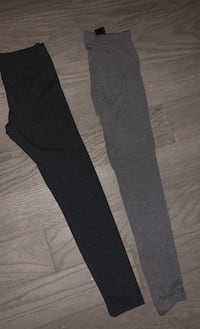 Dark and light grey tights size XS Toronto, M4Y 1K3