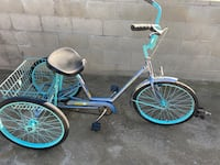 Three wheeler Bicycle.