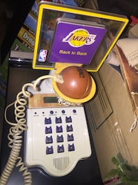 Los Angeles Lakers basketball telephone phone Hesperia, 92345