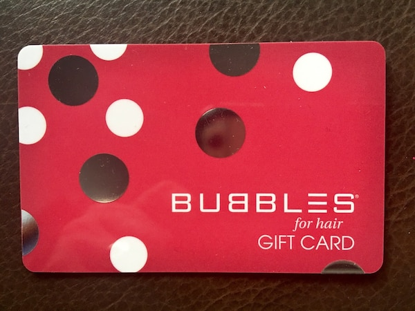 Bubbles Gift Card - $30 for $20