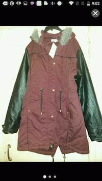 cc6b5c434c0 Used blue and gray zip-up jacket for sale in Mexborough - letgo