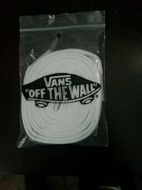 White vans shoe laces Las Vegas, 89107