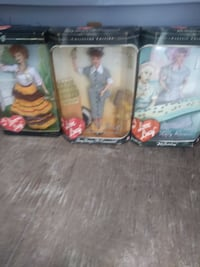 I love lucy collectable dolls.  Pensacola
