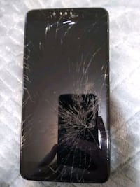 Used Moto Zte Zmax Pro Z981, cracked Screen Folcroft, 19032