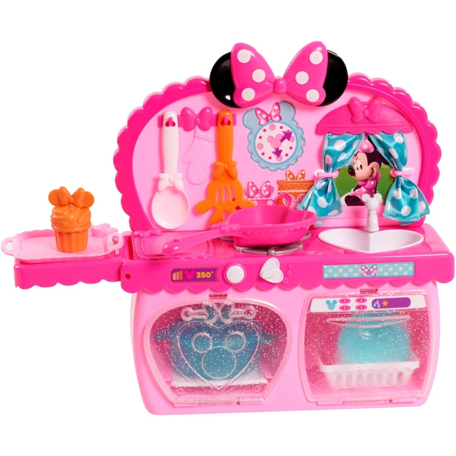 Used Minnie Mouse kitchen set  - Loehmanns Plaza