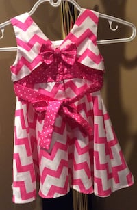 Jona Michelle white & pink toddler's dress (  new )- pls slide to see other photo ) Calgary, T2J
