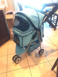 Light blue pet stroller  North Las Vegas, 89084
