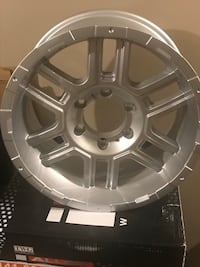 Gmc chevy 6 bolt rims