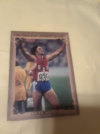 Centennial Olympic Games Collection player card Texas City, 77590