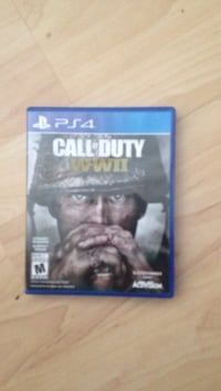 Ps4 call of duty WW2 game and case Saskatoon, S7N 4N4