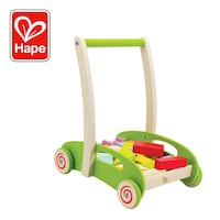 Hape Block and Roll Cart Push and Pull Toy Toronto