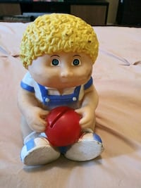 "6.5"" CABBAGE PATCH KIDS BOY COIN BANK CHANGE VINTA"