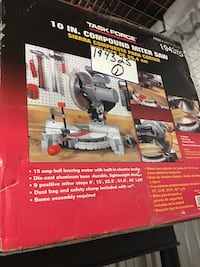 """Task force Mitter saw 10"""" Brand new in the box  Rockville, 20850"""