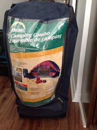 4 person tent, sleeping bags and chair set Toronto, M9A
