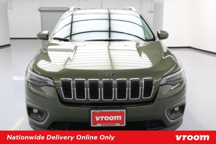 2019 Jeep Cherokee Olive Green Pearlcoat hatchback 9c3e87b0-a368-44e9-a249-ee3f964fbdcc