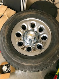 gray bullet hole vehicle wheel and tire Morris, 60450