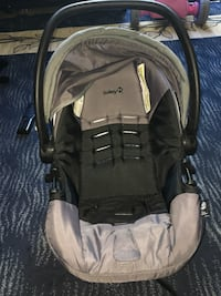 Baby's black and gray car seat carrier Edmonton, T6L 3H3