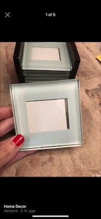 Glass Picture Framed Coasters
