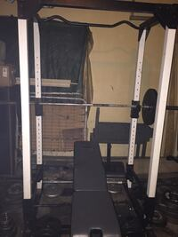 FULL BODY WORKOUT STATION W/PREMIUM WORKOUT BENCH & 700lbs of weights. Ridgeland, 39157