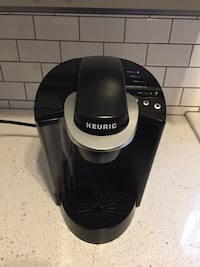 Brand new Keurig K-40 Single Serve K-cup coffee maker, black.  Retails for $130.    Washington, 20003