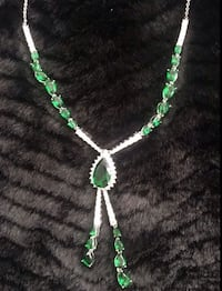 green and silver-colored necklace Los Angeles, 90710