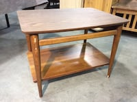 """Vintage Lane furniture coffee table with bottom shelf. A few blemishes, but overall great shape. Measures 28"""" x 22"""" x 20"""" tall."""