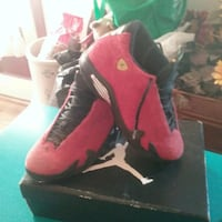 Jordans Suede 14 retros Ferraris men's 9 and half The Village, 73120