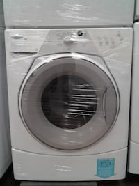 """WASHER WHIRLPOOL HEAVY DUTY 27"""" FRONT LOAD DIGITAL  WHITE  تورونتو"""