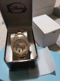 Disney Mickey Mouse Gold Metal Watch Calgary, T3J