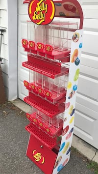 Jelly belly candy store dispenser. Make money null, K0A 3H0