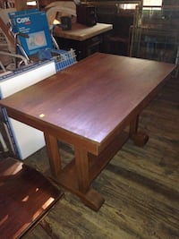 Antique library table  Powder Springs, 30127