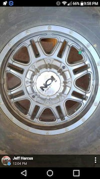 "5, 17"" gun metal grey rims with rubber Lockport, R1A 2T4"