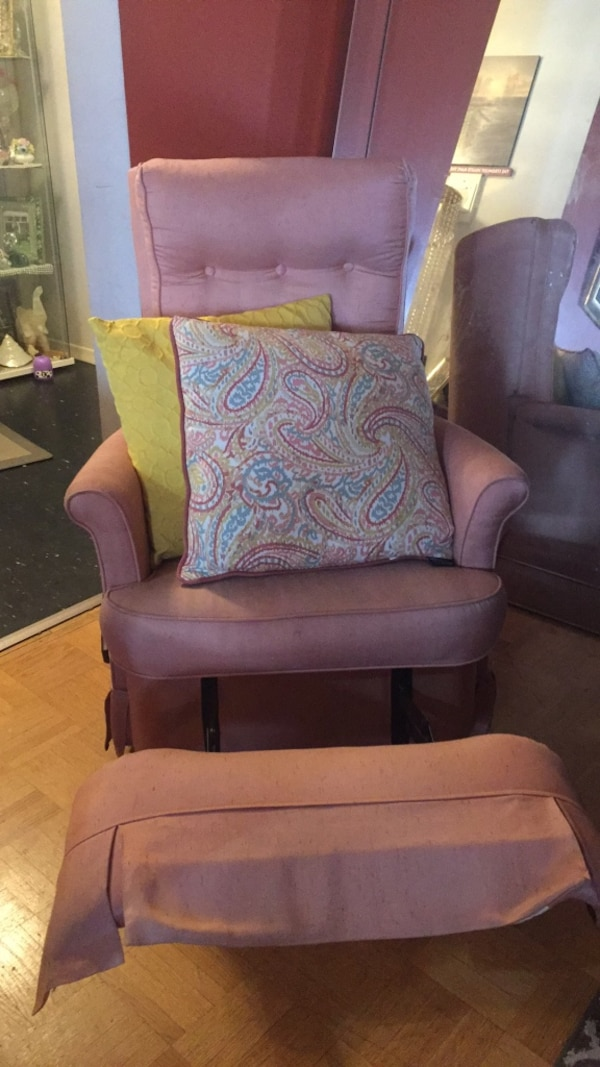Pink Recliner chair