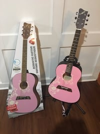 First Act Acoustic Guitar with stand Clarksville