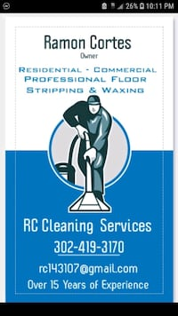 Contracting and cleaning in Newcastle Delaware New Castle