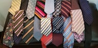 22+ Mixed designer silk ties Toronto, M9W 3W6