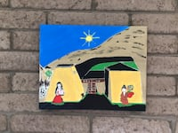 "16"" x 20"" Artist painting painted on canvass  Apache Junction, 85120"