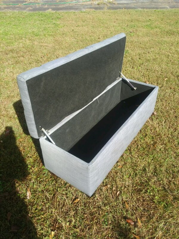Used Bench Seat With Storage 54 X 20 N 20 Inch Tall 30 For Sale In