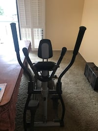 Black and gray elliptical trainer new never used need gone clearing out 200 obo