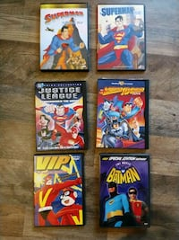 DC movie collection dvd