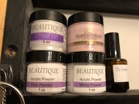 1oz beautique acrylic powder containers Clarence-Rockland, K0A