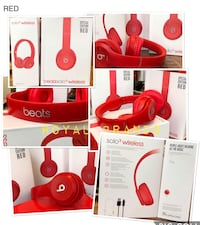 BRAND NEW WIRELESS BEATS SOLO 3 BLUETOOTH HEADPHONES  Mississauga, L5M 7A7