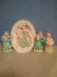 Wall decoration and figurine