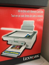 lexmark all in one with memory card slots box new in the box