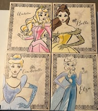 Princess wall hangings Millbury, 01527
